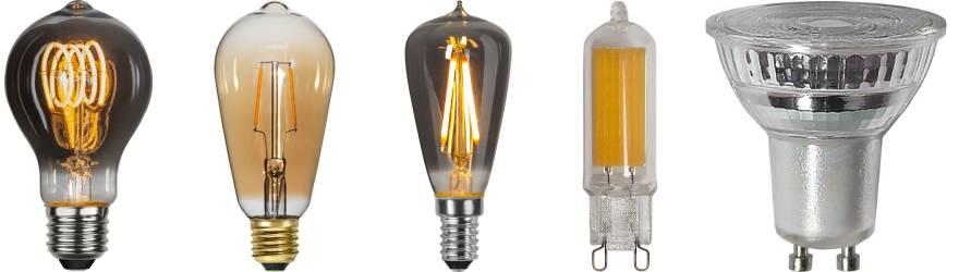 E27 LED Lampor Sensor