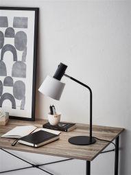 Bodega bordslampa svart/vit Markslöjd