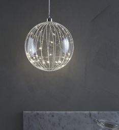 Attarp glasdekoration LED 18 cm Markslöjd