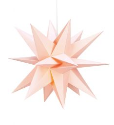 Markslöjd Skillinge 3D pappersstjärna rosa 50cm