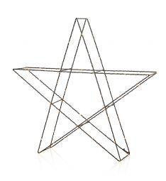 Markslöjd Mystic stjärna 3D LED svart 55cm