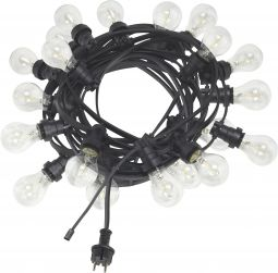 Bright Light String Ljusslinga svart 12m 20L PR Home