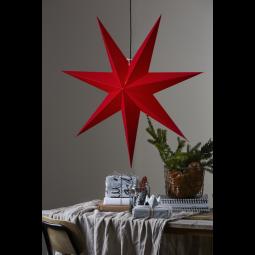 Star Trading Rozen adventsstjärna i papper röd 100cm