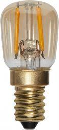 LED-lampa E14 Decoled Amber 0,5W