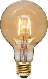 LED-lampa E27 G80 Plain Amber 0,75W