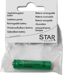 Laddbart batteri AAA 1,2V NI-MH 4-P