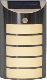 Wally Solcells-vägglykta silver 26,5cm