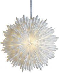 Ice Pappersstjärna vit 50cm utan sladdställ