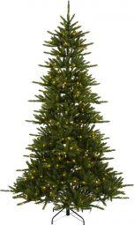Star Trading Minnesota julgran/plastgran LED grön 250cm