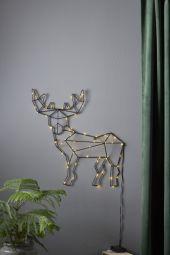 Inomhusdekoration Cupid siluett hjort 49cm