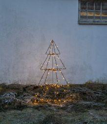 Foldy Utomhusdekoration träd svart 125cm