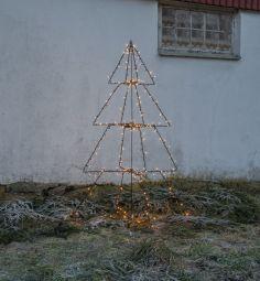 Foldy Utomhusdekoration träd svart 170cm