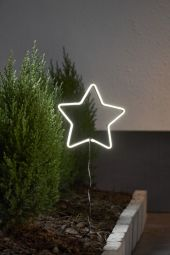 NeonStar Utomhusdekoration vit 58cm