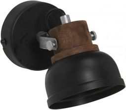 Rutland Vägglampa svart 10cm