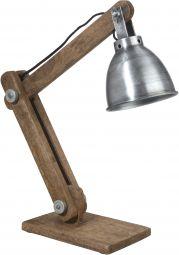 Ashby skrivbordslampa silver 50cm
