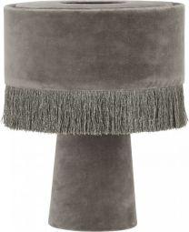 PR Home Alexis bordslampa grå sammet 31cm