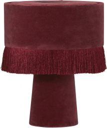 PR Home Alexis Bordslampa vinröd 31cm