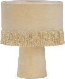 PR Home Alexis bordslampa ljusrosa sammet 31cm