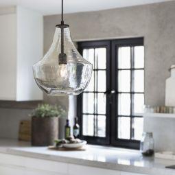 PR Home Hamilton taklampa glas 30cm