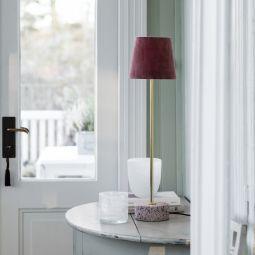 PR Home Terazzo Lampfot rosa 57cm