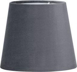 PR Home Lampskärm Mia Sammet grå 20cm