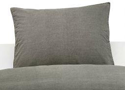 Borganäs Örngott Washed 50x60cm grå