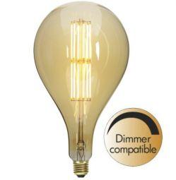 Decoration LED Lampa 165mm 10W E27 Dimbar