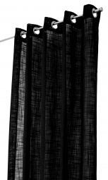 Arvidssons Textil Norrsken öljettlängd 140x240cm 1st svart