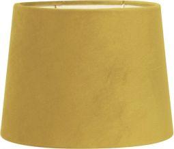 Sofia Lampskärm Sammet gul 30cm PR Home