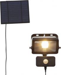 Väggspotlight Solcell Powerspot svart 16cm Star Trading