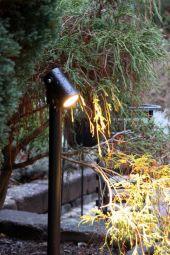 Lightson Luna pollare 65cm 5W svart