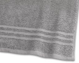 Handduk Basic Frotté 2-pack grå 30x50cm