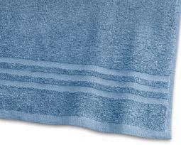 Handduk Basic Frotté blå 65x130cm