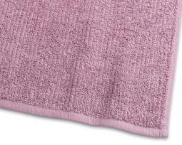 Handduk Stripe Frotté 2-pack rosa 50x70cm