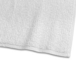 Handduk Stripe Frotté vit 65x130cm