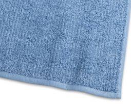 Handduk Stripe Frotté blå 65x130cm
