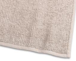 Handduk Stripe Frotté sand 65x130cm