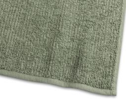 Badlakan Stripe Frotté grön 90x150cm