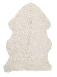 Skinnwille korthårigt fårskinn Curly beige/moonlight 95cm