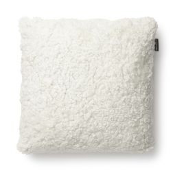 SkinnWille Kuddfodral fårskinn Curly vit 45x45cm