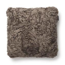 SkinnWille Kuddfodral fårskinn Curly sahara 45x45cm