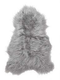 SkinnWille Skinnwille isländskt fårskinnsfäll Molly grå 90cm