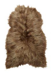 Skinnwille isländskt fårskinnsfäll Molly brun 90cm