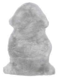 Lammskinnsfäll Baby extra mjuk grå 70cm, ullängd 25mm