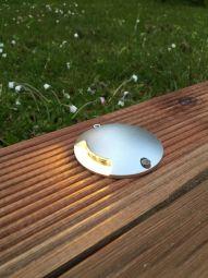 Lightson Lightson Zenit vägg/decklight 0,5W silver