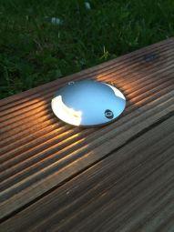 Lightson Lightson Zenit Duo vägg/decklight 0,5W silver