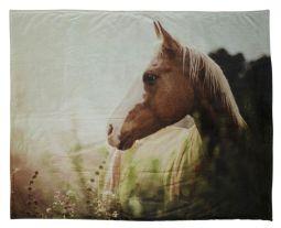 Pläd Horse 120x150cm