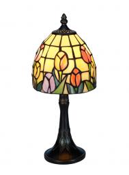 Nostalgia Design Tulipana Tiffany bordslampa 34cm
