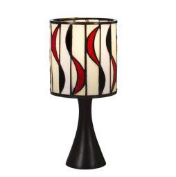 Nostalgia Design Chili Tiffany bordslampa 27cm