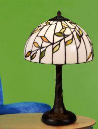 Nostalgia Design Björk Tiffany bordslampa 40cm